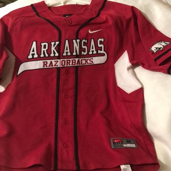 outlet store c3a40 99a88 Arkansas Baseball Logo Jersey
